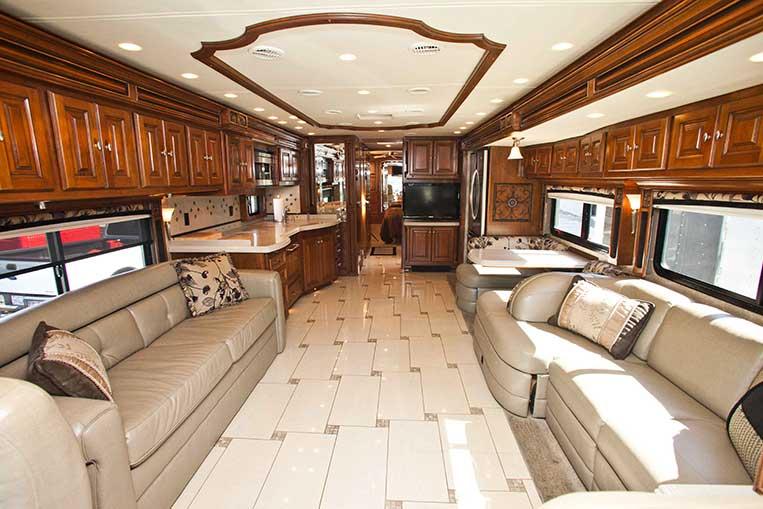 Celebrity trailer rental